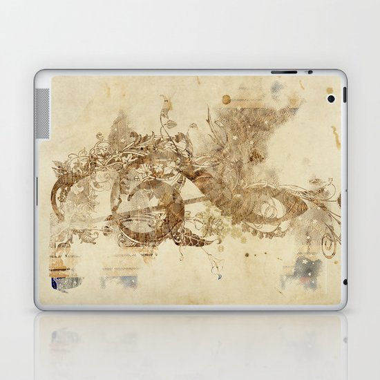 the golden key Laptop & iPad Skin