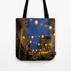 Chinatown Lanterns in L.A. Tote Bag