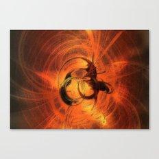 Magika Fractal - Laptopskin Canvas Print