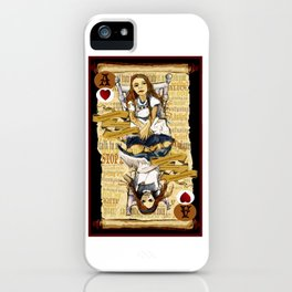 'Alice' (Alice in Steampunk Series) iPhone Case