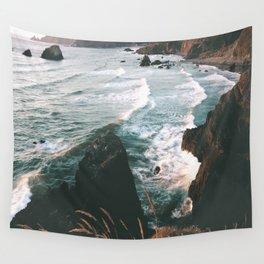 Oregon Coast IV Wall Tapestry
