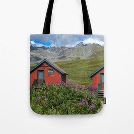 Hatcher_Pass Cabins - Palmer, Alaska Tote Bag