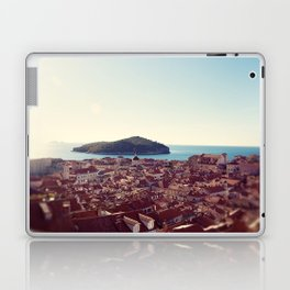View over Dubrovnik Croatia Laptop & iPad Skin
