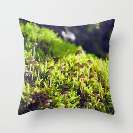 The small wild Throw Pillow
