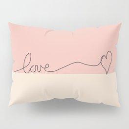 Love en Rose Pillow Sham