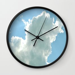 Cloudy with No Chance of Meatballs Wall Clock