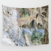 swallow Wall Tapestries featuring Swallow Grotto by Jennifer Stinson