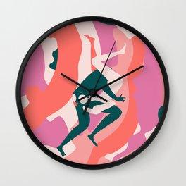 Dunas de colores Wall Clock