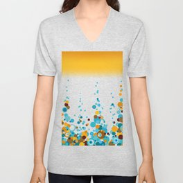 Summer Pattern 33 Unisex V-Neck