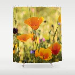 Summer Garden - JUSTART © Shower Curtain