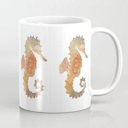 Watercolor Seahorse Coffee Mug