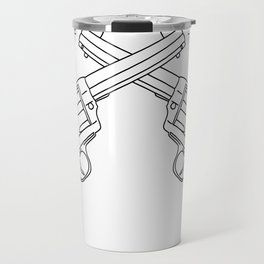 Botanical Revolvers Travel Mug