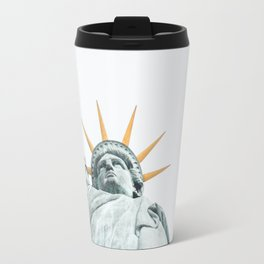 Lady Liberty #society6 #decor #buyart Travel Mug