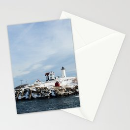 Nubble Lighthouse Maine Stationery Cards