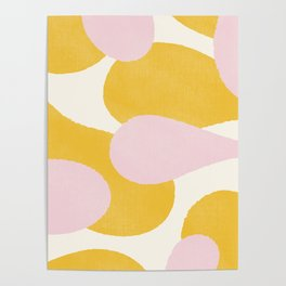 Peachy Mod Poster