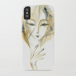 Madame Ochre iPhone Case