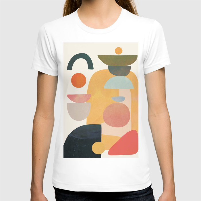 Modern Abstract Art 70 T-shirt