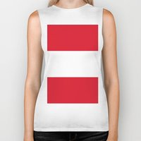 peru Biker Tanks featuring Flag of Peru by Neville Hawkins