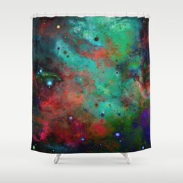 Everything is nothing 28 (therefore it was beautiful) Shower Curtain
