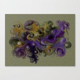 Coloured fantasy Canvas Print