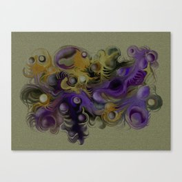 Coloured fantasy Canvas Print