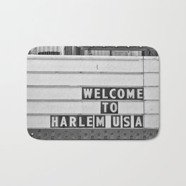 Welcome to Harlem Bath Mat