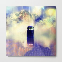 tardis legend Metal Print