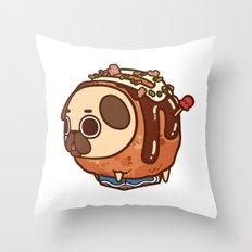 Puglie Takoyaki Throw Pillow