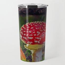 Amanita muscaria Travel Mug