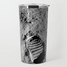 Bootprint On The Moon - Apollo 11 - 1969 Travel Mug