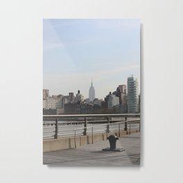 Cityline Metal Print