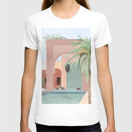 Moroccan Pool T-shirt