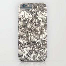 Albrecht Dürer Or Durer The Four Horsemen iPhone Case