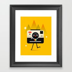 チーズ Framed Art Print