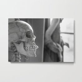 There's Something In Your Teeth Metal Print