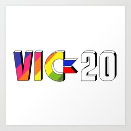 vic20 Art Print