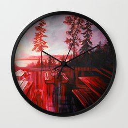 Night After Night  Wall Clock