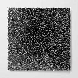 Dashed line drawn by pen Metal Print