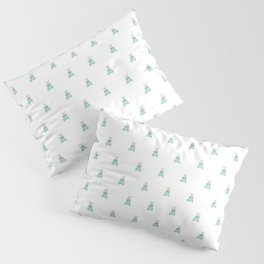 Blue Moth Pillow Sham