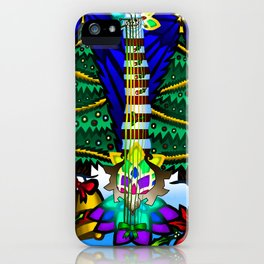 Fusion Keyblade Guitar #178 - Decisive Pumpkin & Combined Keyblade iPhone Case