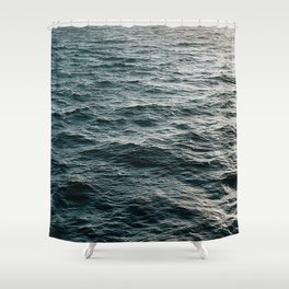 Water Collection I Shower Curtain