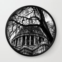 Into the trees 05 - St. Paul's Cathedral Wall Clock