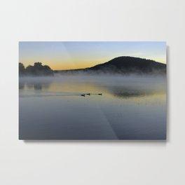 Serene Morning on Lake George Metal Print