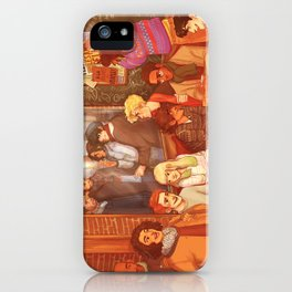 Les Misérables: A Group Which Almost Became Historic iPhone Case