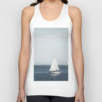 sail Tank Tops featuring Set Sail by Pure Nature Photos