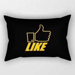 """Like"" Rectangular Pillow"