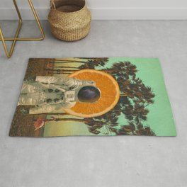 Summer From Space Rug
