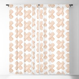 Get Well Bandaid Blackout Curtain