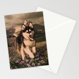 Wind in Your Hair Stationery Cards