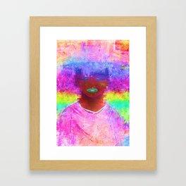 INFORMATION AGE Framed Art Print